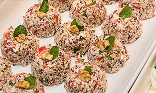 Cuscuz de Quinoa com Ricota