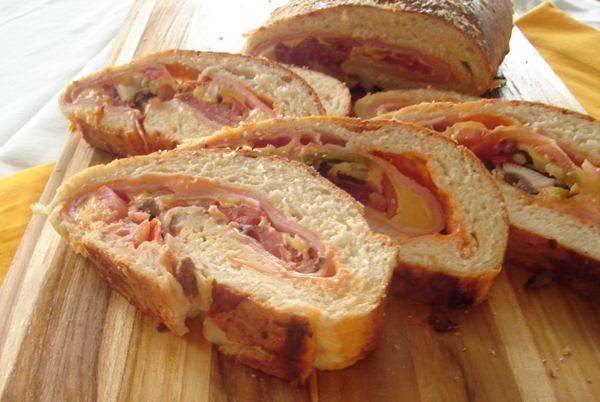 Pão de Rocambole Família Knorr