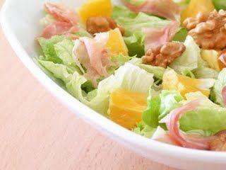 Salada de nozes