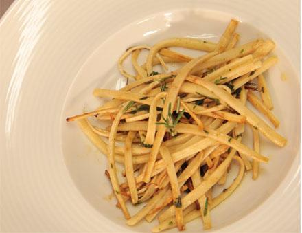 Espaguete de Palmito com Ervas