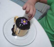 Bolo de microondas da Dori Alimentos