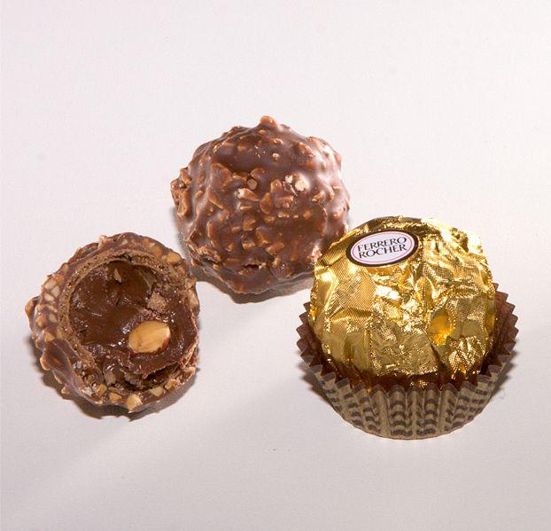 Ferrero rocher caseiro