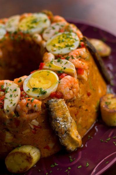 Cuscuz bem brasileiro de camarão