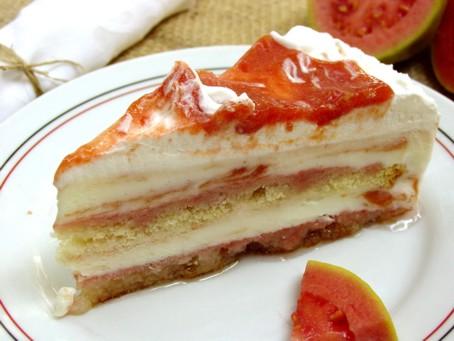 Torta de Goiabada com Queijo