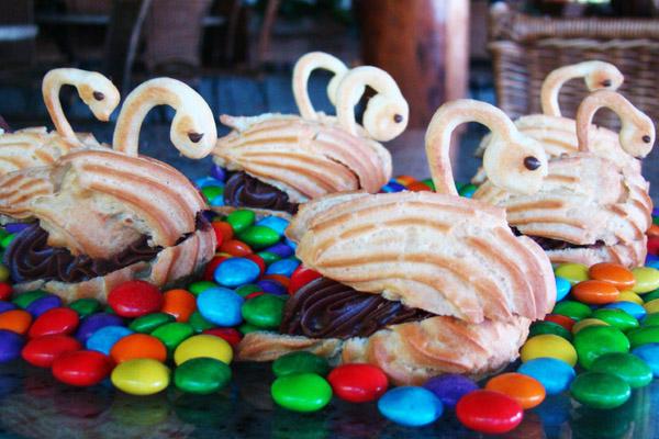 Cisne de Chocolate Aguativa