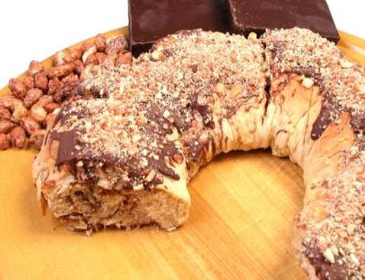 Rosca Mix com Nuts e Chocolate