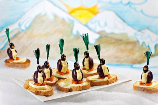 Pinguins de Azeitona e Catupiry