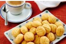 Biscoitos de Ricota e Nozes