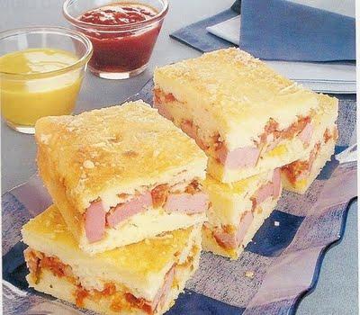 Torta Cachorro quente De Arroz