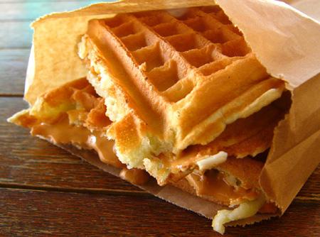 Waffles Salgados