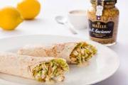 Wrap de frango com molho de mostarda de Dijon A L´Ancienne