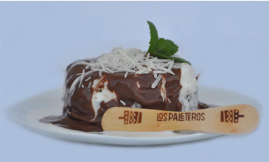 Tortinha funcional de Coco e Chocolate
