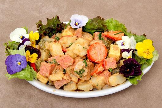 Salada Primaveril Kneipe Schornstein