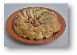 Rosca de Chuchu com Amendoim