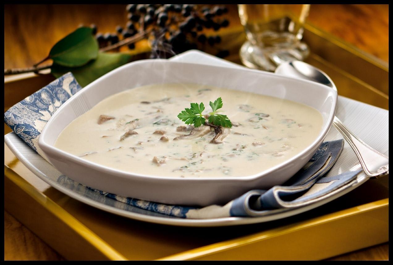 Sopa de Cogumelos e Catupiry®