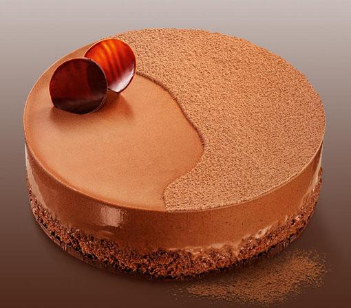 Cheesecake de Chocolate com Avelã