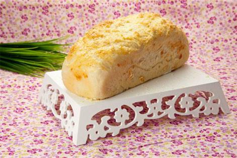 Pão de queijo ralado