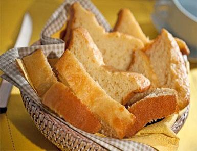 Pão de leite com baixa lactose