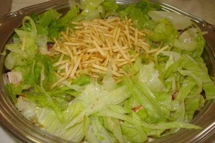 Salada de kani especial