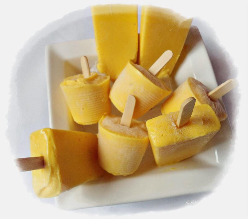 Picolé de Fruta sem Adição de Acúcar ou Corantes ou Aromatizantes