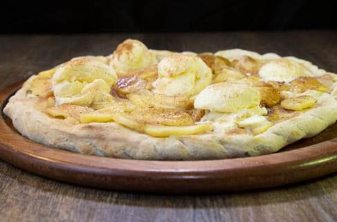 Pizza de maçã