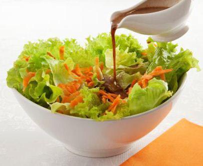 Salada ao Molho de Shoyu e Alho