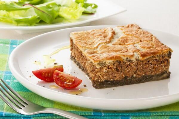 Torta grega de acém