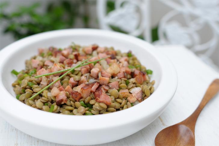 Salada de Lentilha à moda espanhola