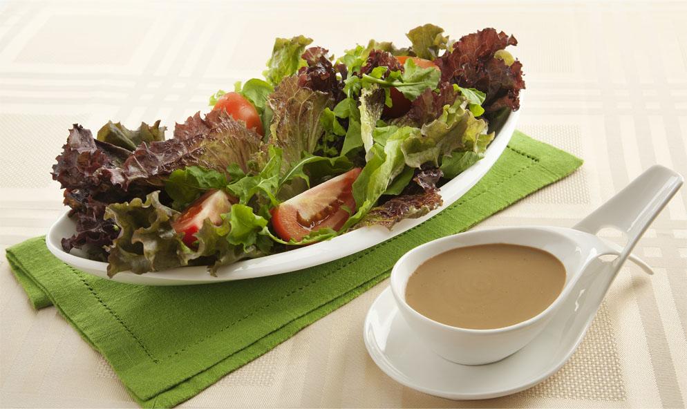 Salada ao Molho Shoyu e Iogurte