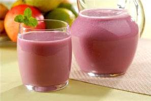 Suco de uva com goiaba