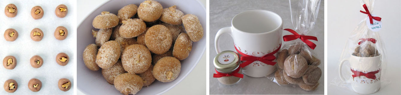 Mini cookies de canela
