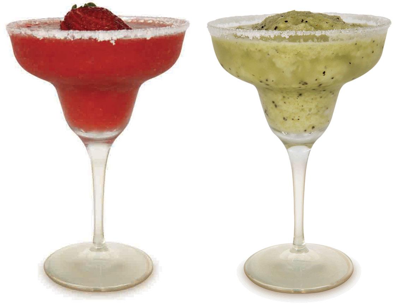 Margarita de morango ou kiwi (chef Caio Fontenelle do Restaurante Figueira)