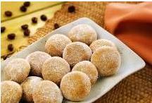 Biscoitos Delicados de Cappuccino