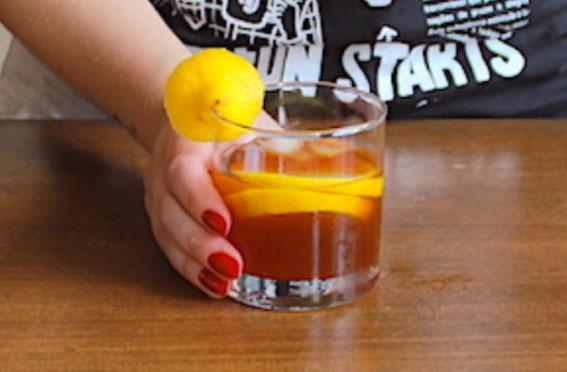 Cold Brew com limão / laranja