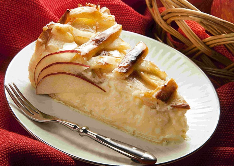 Torta de maçã com Catupiry®