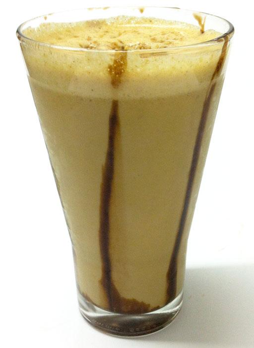 Café com pasta de amendoim