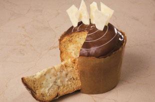 Panetone Trufado ao Chocolate Branco