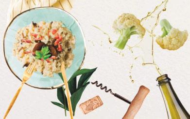 Risoto de Arroz de Couve-Flor (sem arroz)