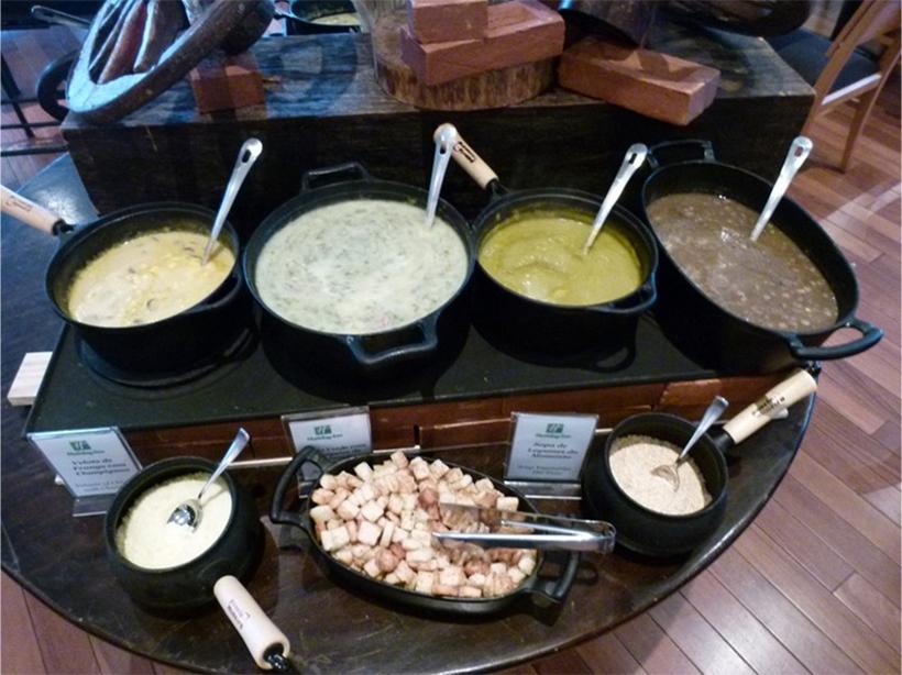 Sopa veloute de Frango com Champignon paris fresco