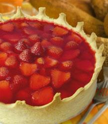 Torta Irresistível de Morango Zero Açúcar