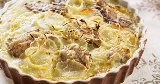 Fritada de Forno com Sardinha