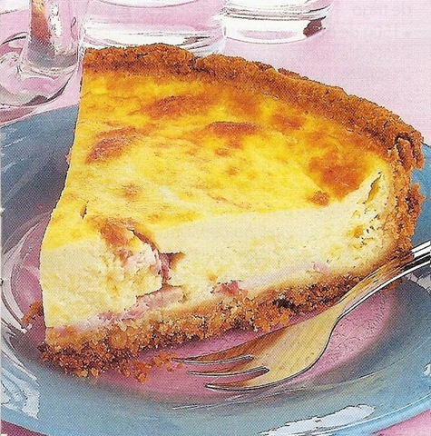 Quiche de Queijo e Bacon