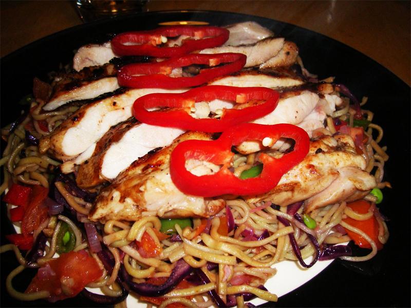 Coxas de frango com Paprica e Gengibre