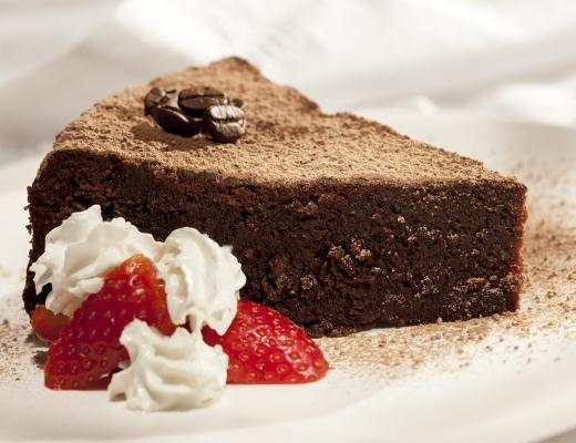 Torta de Chocolate com Café 3 Corações