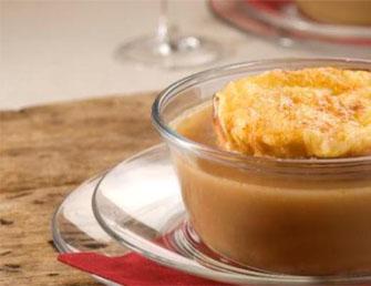 Sopa gratinada de cebola