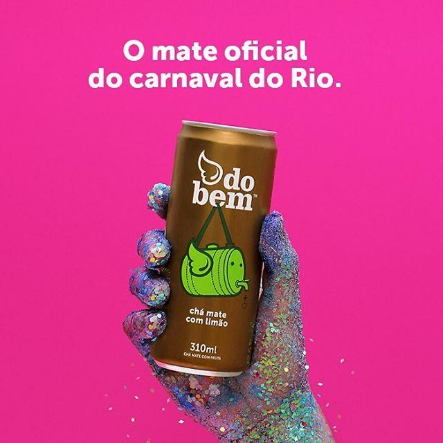 Mate do bem™ é o mate oficial do carnaval do Rio