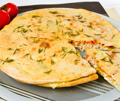 Alface dá toque especial a prato italiano