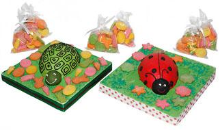 Bolachas decoradas - Joaninhas e Tartarugas
