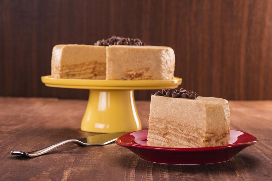 Receita de torta com a Vitarella para comemorar o Dia do Café