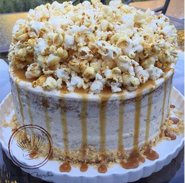 """Chef Marjorie Cassilha ensina a fazer bolo """"Caramel Popcorn"""", em evento gratuito"""